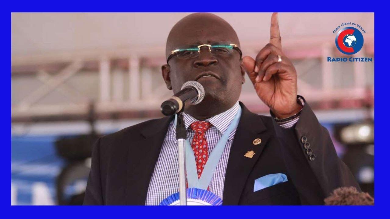Magoha Awalaumu Wazazi Kutokana Na Mimba Za Mpema - YouTube