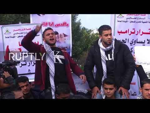 State of Palestine: 'A revolution' - Students decry Pence's visit to region