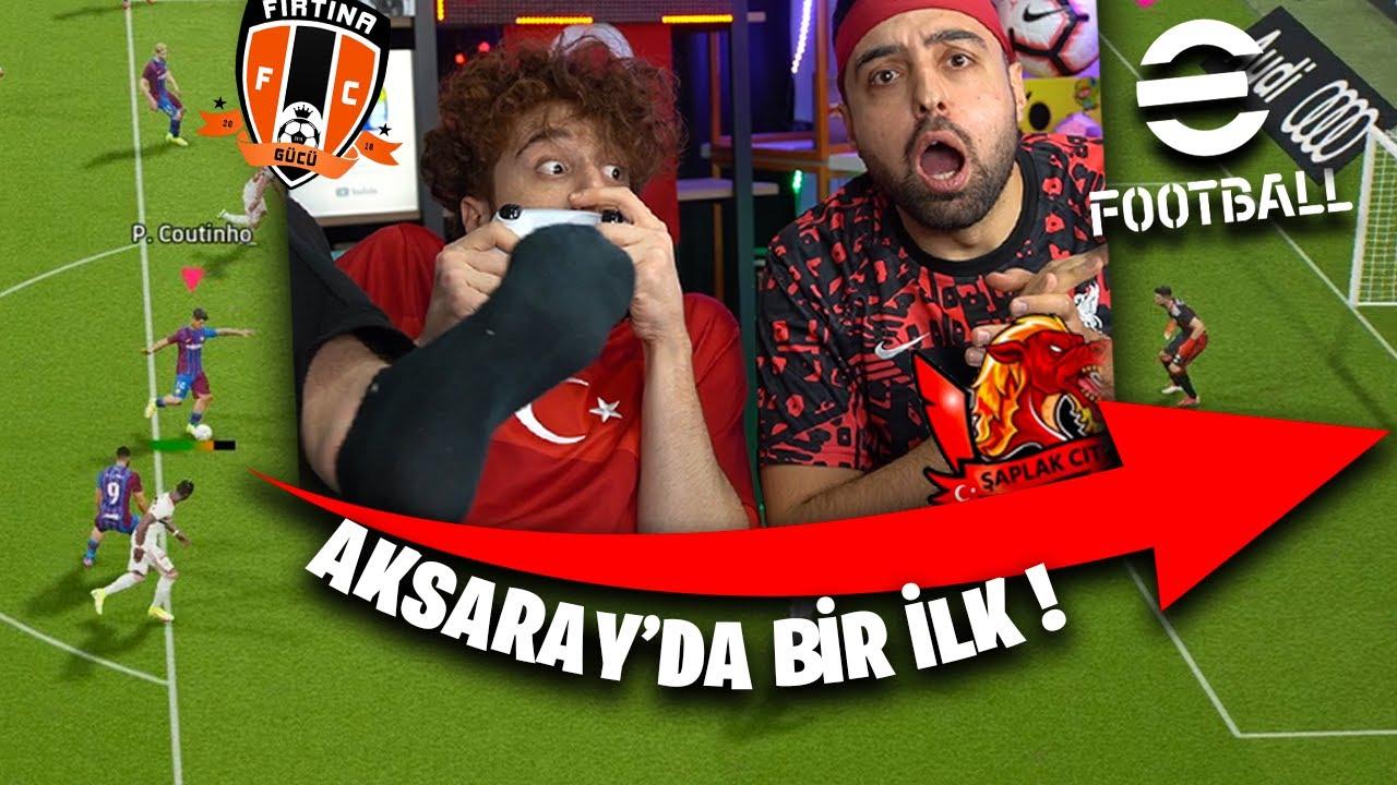 AKSARAY'DA BİR İLK ! PRİME EMJAN GERİ DÖNDÜ ! eFootball PES 2022 ÜMİDİ VS EMJAN