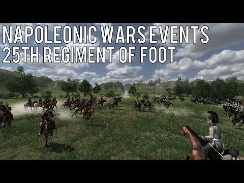 25th Regiment Form Square - Napoleonic Wars