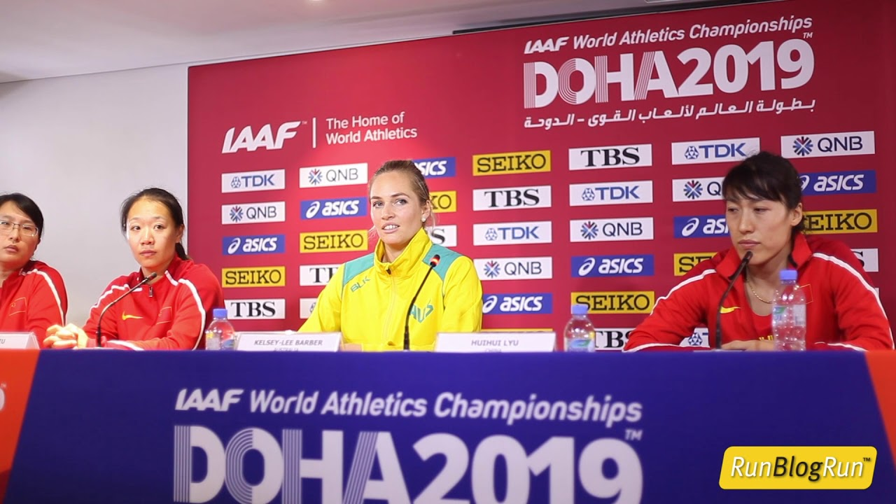 Doha WC 2019 - Women's Javelin Final Press Conference