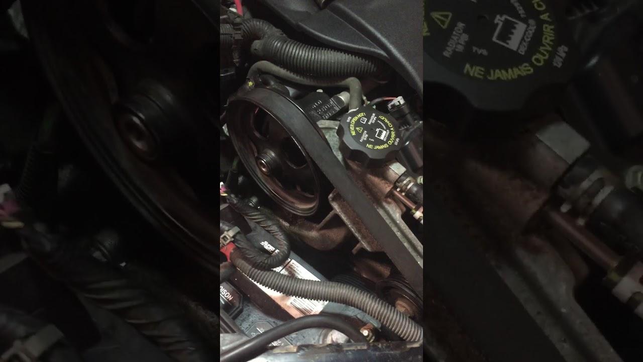 2009 chevrolet impala ss 5 3l engine belt removal belt tensioner removal  solution