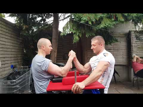 Dublin Arm Wrestling full training session #18 part 1