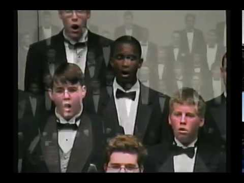 Inaugural TMEA Texas All-State Tenor/Bass Choir 2002 directed by Dr. Jerry Blackstone