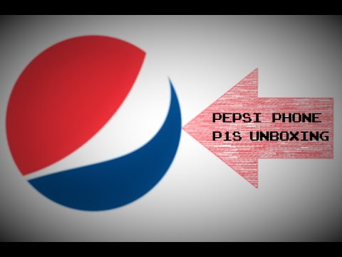 Pepsi Phone P1S Unboxing - Deutsch