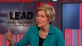 Warren gives Trump an 'F' on first 100 days