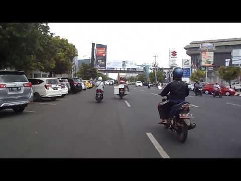 Travel trip on kota semarang city, perjalanan tour dari pasar johar ke paragon mall. Travel Vlog..