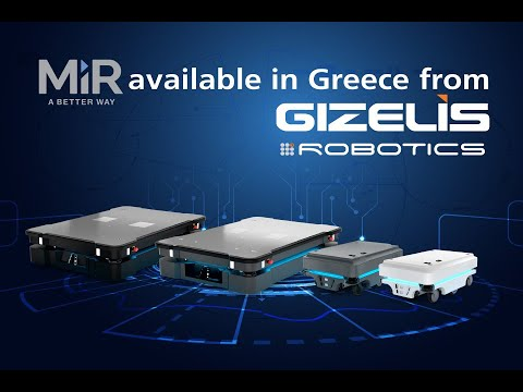MiR available in Greece from Gizelis Robotics