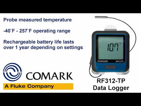 Comark Professional Grade Thermometers - RF311-T & RF312-TP Data Loggers, PDT300 Stem Thermometer