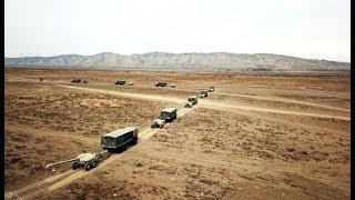 Азербайджанская армия проводит широкомасштабные командно штабные учения