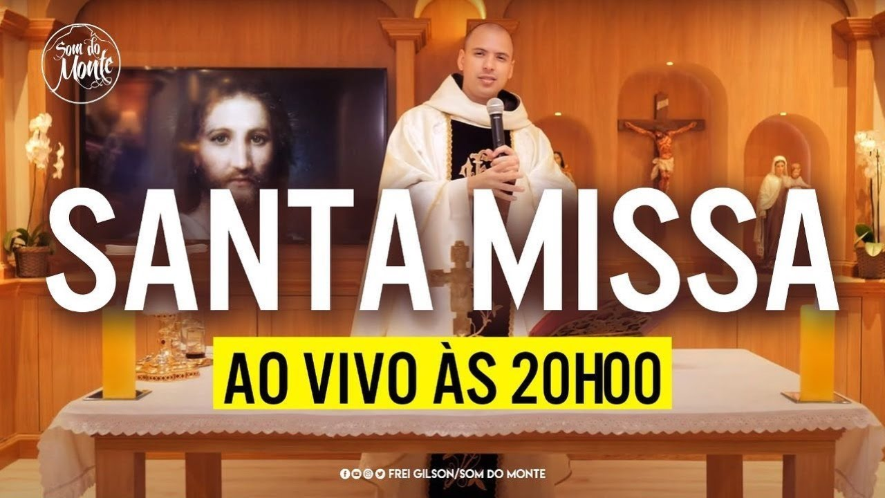 Santa Missa ao vivo | 13/08 20h