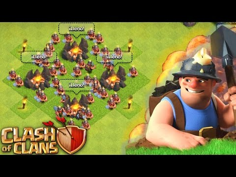 """¡""""ATAQUE TODO MINEROS en Clash of Clans""""! - ANTRAX ☣"""