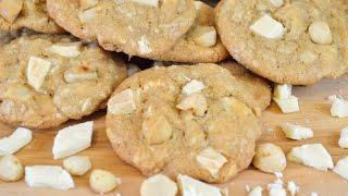 White Chocolate Chunk and Macadamia Nut Cookies Recipe |Kin Community's Cookie Collab