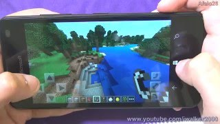 Обзор Microsoft Lumia 550 - тест производительности в Minecraft(Подписаться на канал ▻▻▻ http://bit.ly/iwalker2000_subs Также смотрите обзоры новой Microsoft Lumia 950 XL ..., 2015-12-18T06:29:19.000Z)