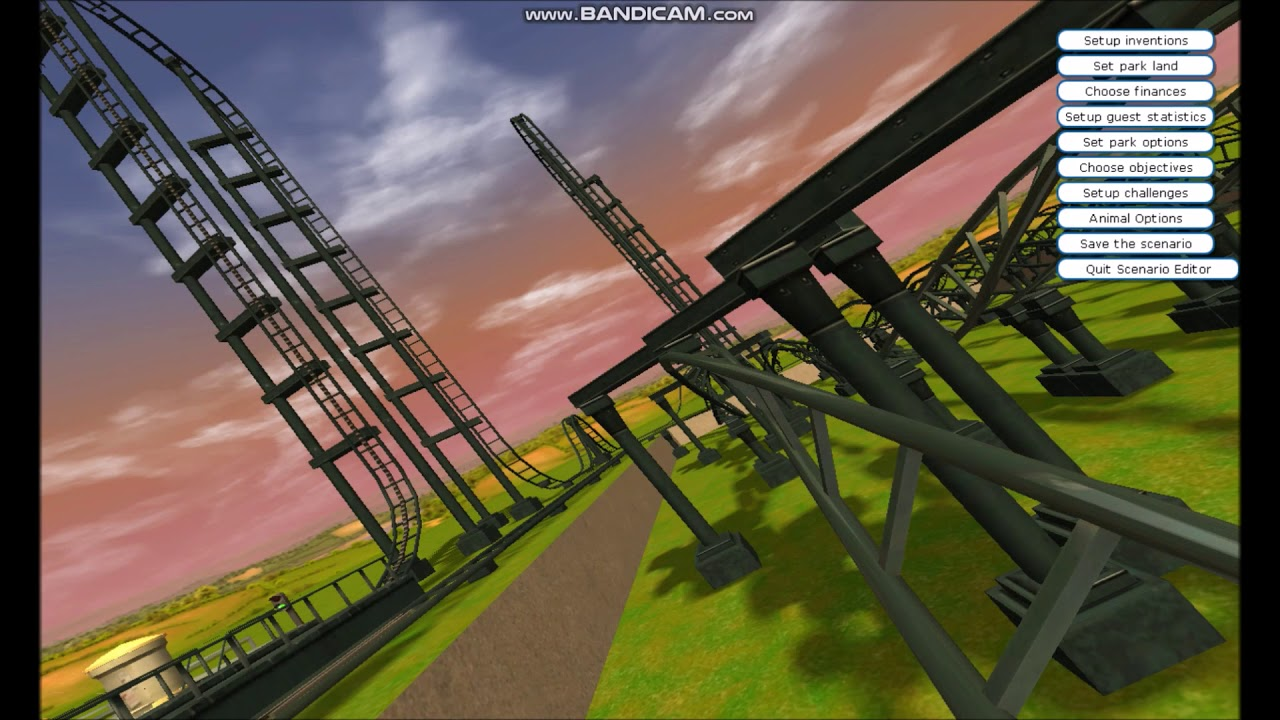 RCT3 Roller Coaster Video: Forever Twist