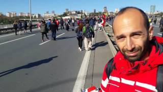 38.Wodafone istanbul maratonu(15 Temmuz Şehitler Koşusu)2.bölüm