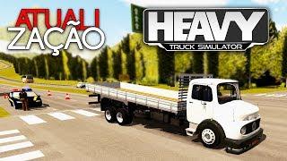 SAIU! Atualização do Heavy Truck Simulator com Novo caminhão MB 1113 (Volante G27)