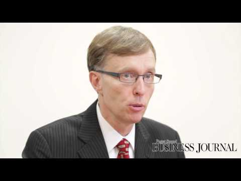 Rob McKenna talks with the Puget Sound Business Journal
