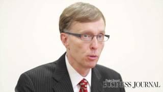 Rob McKenna talks with the Puget Sound Business Journal