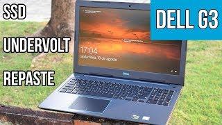 Turbinando o Dell G3 - Undervolt, SSD, Pasta térmica, RAM - TechTuning #4