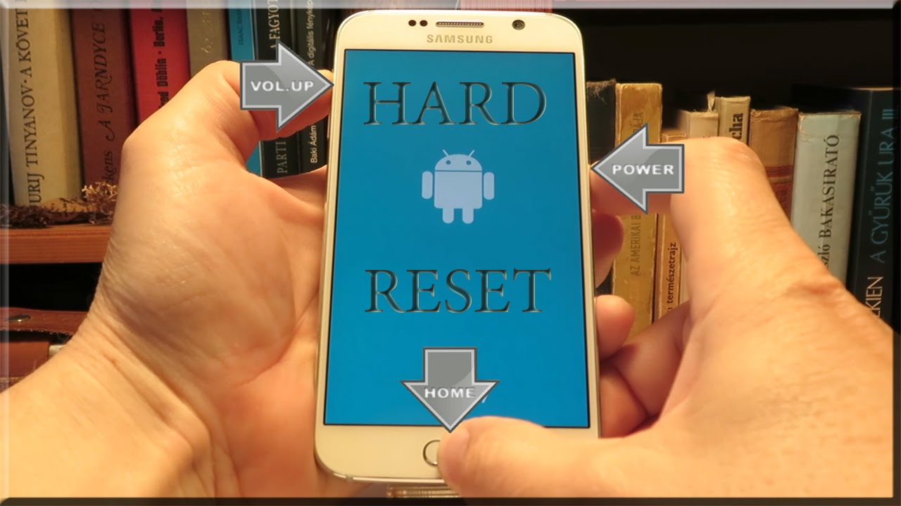 how to factory reset a samsung galaxy s6 active