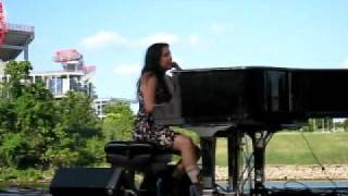 Vanessa Carlton - I Don't Want To Be A Bride (Live at Nashville Pride 6-19-2010 Katia's Video)