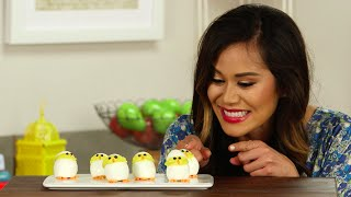 Hatch These Deviled Egg Chicks For Easter! | Get The Dish