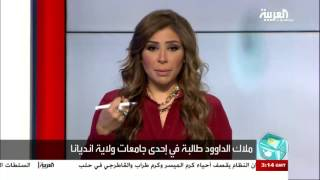 تفاعلكم : طالبة سعودية تعمل كمراسلة في قناة أمريكية