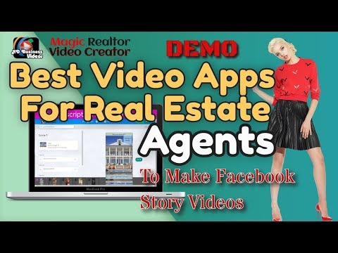 Real Estate Video Software Online Demo - Top Apps for Real Estate Agents for Facebook Story Videos