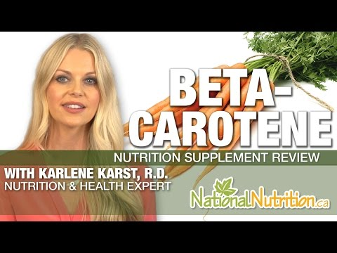 Professional Supplement Review Beta-carotene