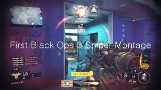 OpTic Pamaj - First Black Ops 3 Sniper Montage HD
