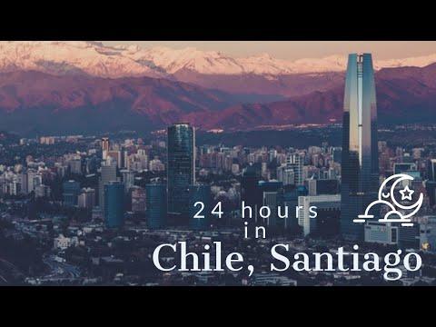 Travel vlog | 24 hours in Santiago Chile 🛫🌄