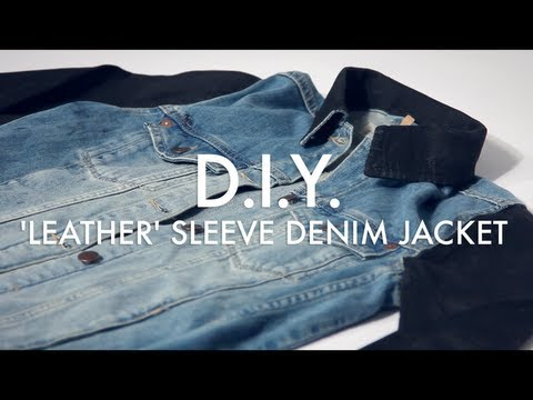 how to get a denim jacket to not close