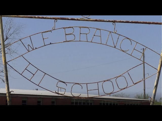 'A source of hope': Newport couple revitalizes W.F. Branch High School