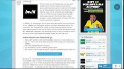 bwin Promo Code (Zusammenfassung)