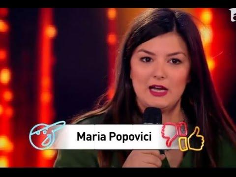 Maria Popovici ★ Câștigătoarea Celui De-al Doilea Sezon IUmor ツ