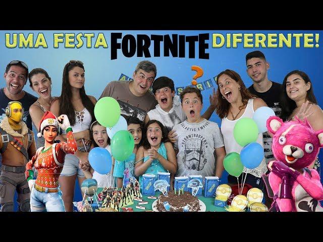 GANHEI UMA FESTA SURPRESA DIFERENTE !!!