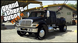 GTA 5 ROLEPLAY - MY NEW INTERNATIONAL CXT TRUCK! - EP. 440 - CIV