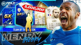 WE PACKED A 6 MILLION COIN MOMENTS ICON (The Henry Theory #75) (FIFA Ultimate Team)