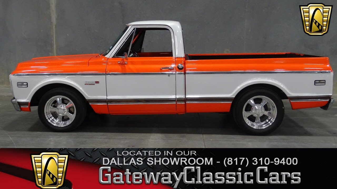 1972 chevrolet custom deluxe c 10 c10 c 10 c 10 pickup truck chevy 1 2 - 1972 Chevrolet C 10 Stock 153 Gateway Classic Cars Of Dallas