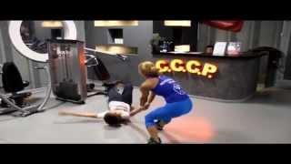 Даня и Кристи  ФИТНЕС-КЛУБЕ  || How Danya crawls out of FITNESS CENTER?!