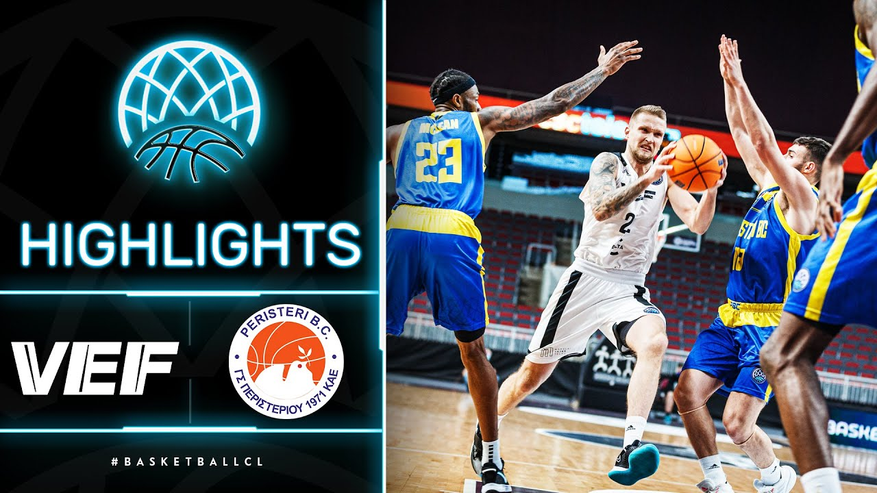 VEF Riga v Peristeri - Highlights