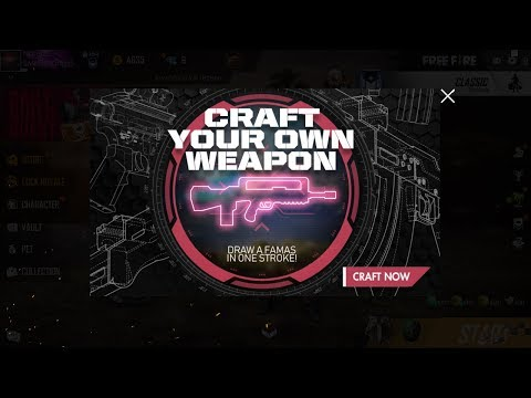 New weapon event #Garena #Free fire (Famas drawing)