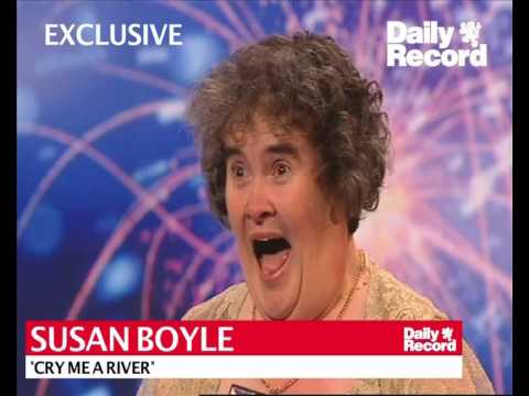 Cry Me a River -  Susan Boyle's first recording in 1999