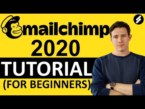 MAILCHIMP TUTORIAL 2021 -  Email Marketing step by Step for Beginners
