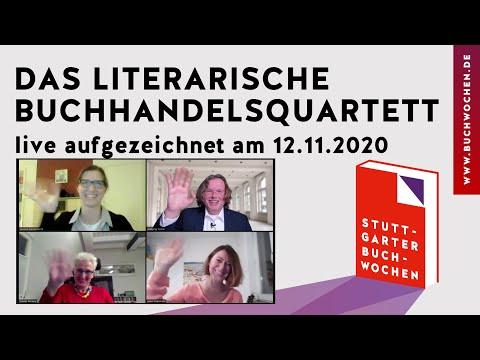 Das literarische Buchhandelsquarett auf den Stuttgarter Buchwochen 2020