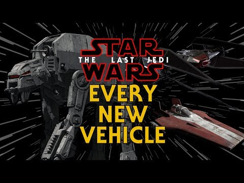 Every New Ship and Vehicle from The Last Jedi