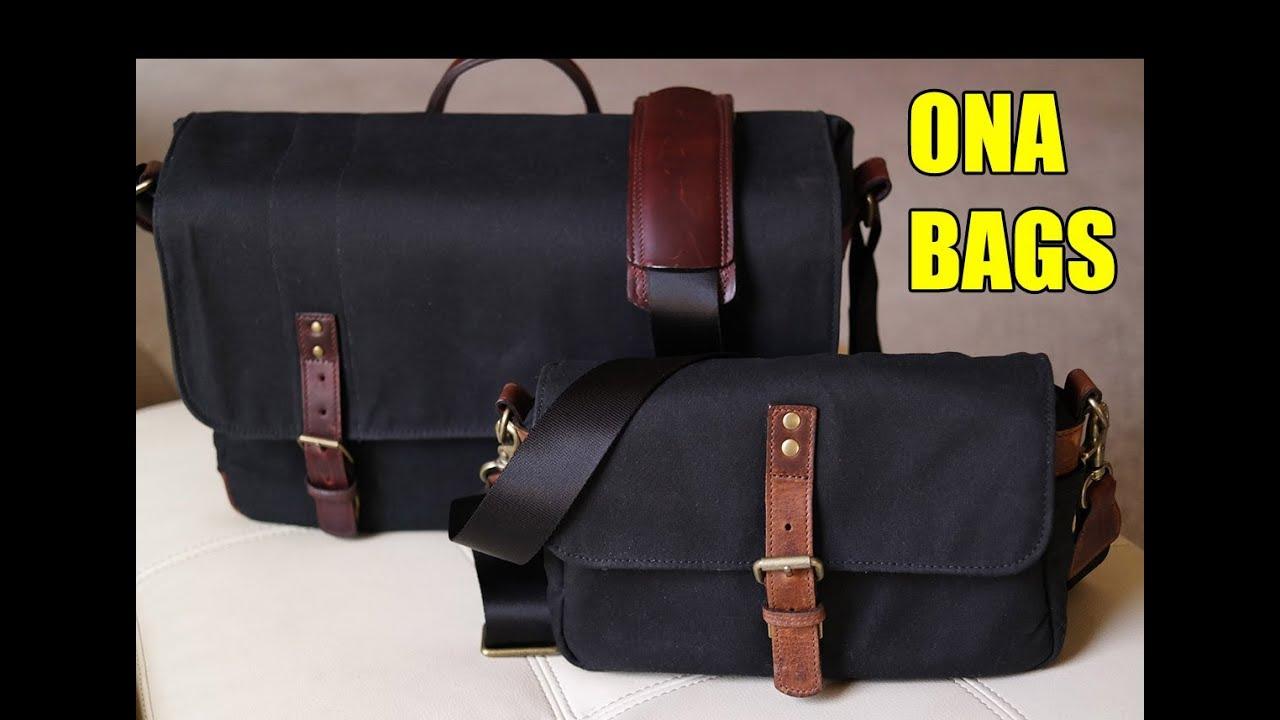 c6e47c616da Ona Union Street and Bowery Camera Bag Review - YouTube