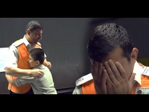 Metroda babalar günü sürprizi... En güzel gözyaşları...
