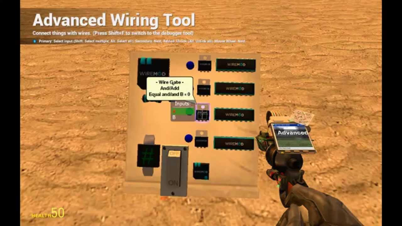 Tutorial Garrys Mod Wiremod Cycler Acf Weapon Chain Fire Wiring Basics Youtube Premium